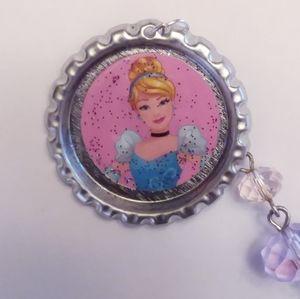 2 Disney Princess Cinderella Keychains